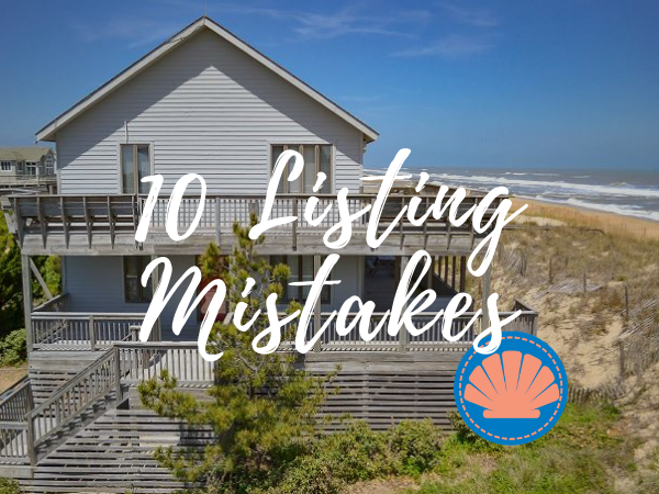 Oceanfront House on the Outer Banks | 10 Listing Mistakes to Avoid. Home been on the market for a while.