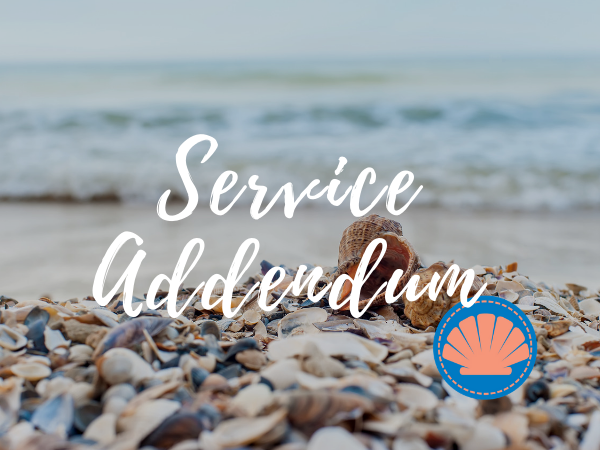 Service Addendum | Outer Banks Property Management