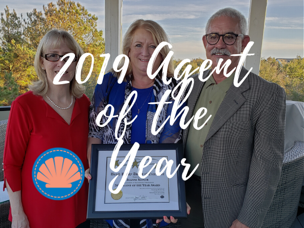 2019 Outer Banks Agent of The Year at Beach Realty - Joanne Kepler