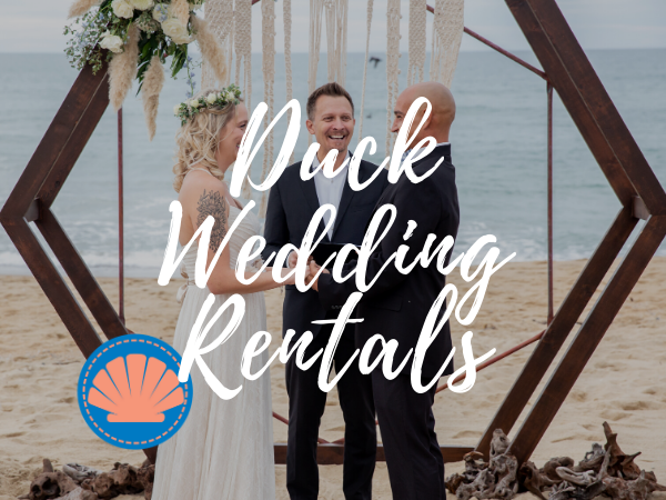 Outer Banks Wedding & Event Rentals - Wedding in Duck, NC