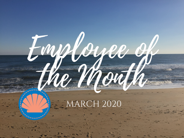 Beach Realty March Employee of The Month