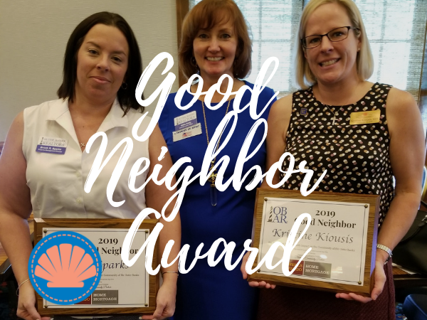 Outer Banks Good Neighbor Award