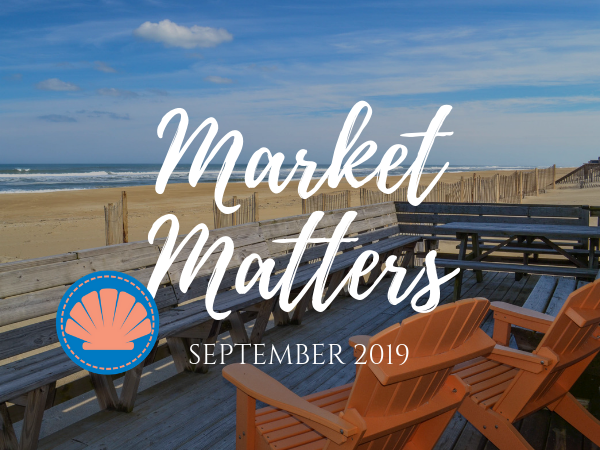 Outer Banks Real Estate Market Teaser Template | Two Chairs Overlooking the ocean