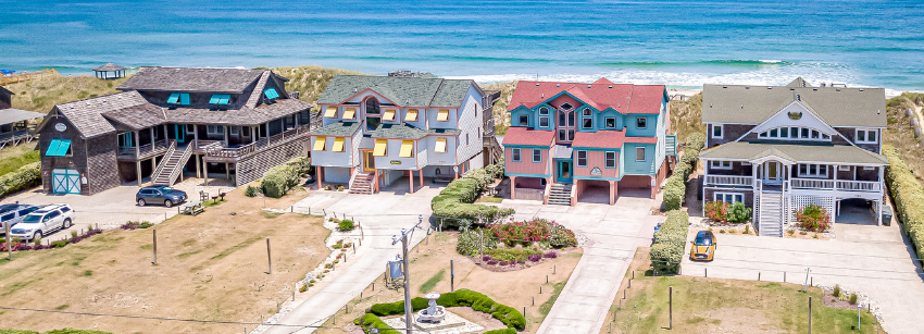 Side By Side Nags Head Oceanfront Rentals