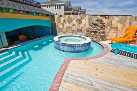 Outer Banks heated pools