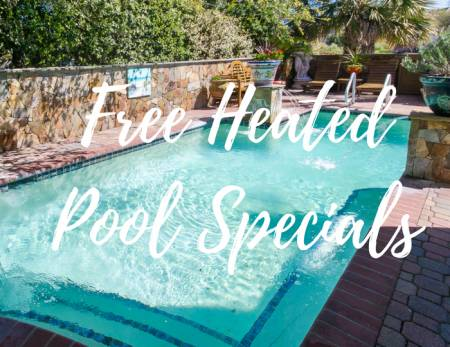 Heated Pool Specials