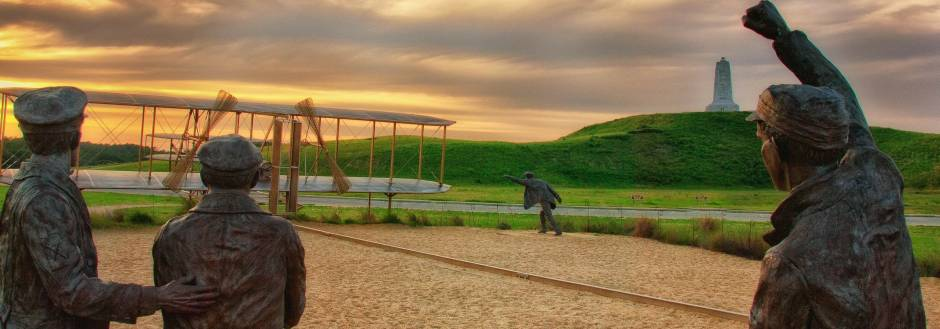 Outer Banks First in Flight Wright Brothers