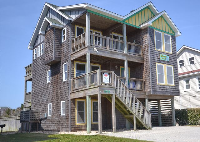 Hair of The Dog K1113 | Semi-oceanfront Nags Head Rental