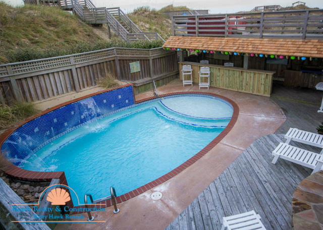 Outer Banks Waterfall Pool