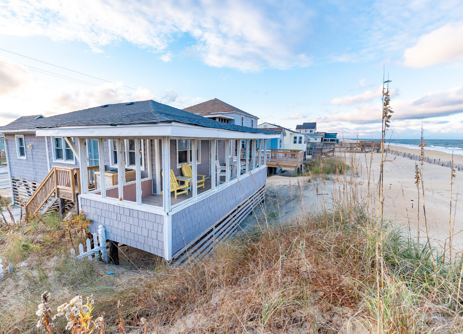 Affordable Oceanfront Vacation Rental in Kitty Hawk