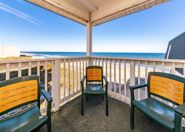 Sands 1C Kill Devil Hills Oceanfront Condo Rental