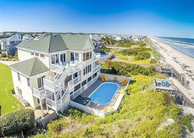 Outer Banks Family Reunion Accomodations Large Group Rentals Beach Realty Nc