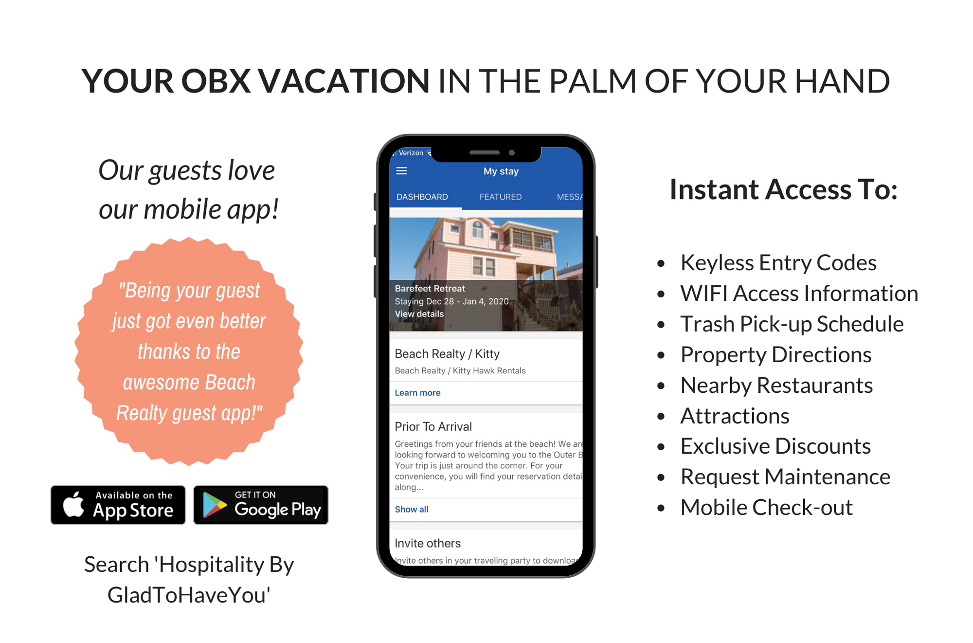 Outer Banks Vacation Rental | Beach Realty's Mobile App