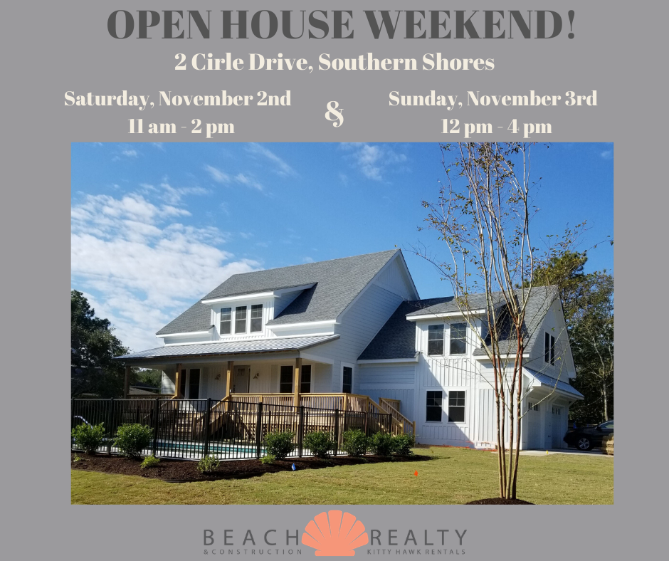 Outer Banks Open House | Southern Shores New Construction For Sale
