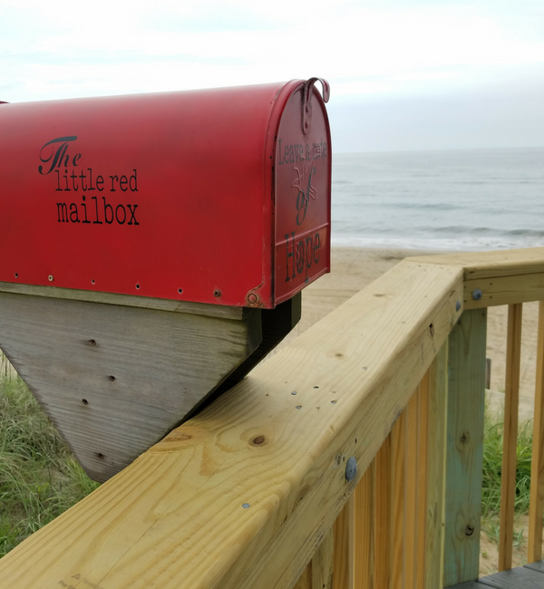 Outer Banks Little Red Mailbox