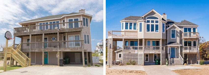 Side By Side Homes in Whalehead Corolla